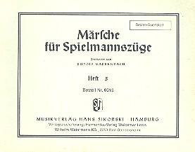 Märsche für Spielmannszüge 5 (2 Flöten, Trommel): Sopranquerflöte 1
