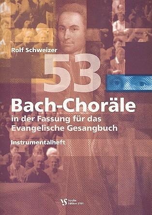 53 Choräle für das EG: Instrumentalheft (für Posaunenchor, Holzbläser, Streicher)