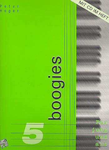 Boogies Band 5 (+CD): 10 anspruchsvolle Boogie- und Bluesstücke für Klavier