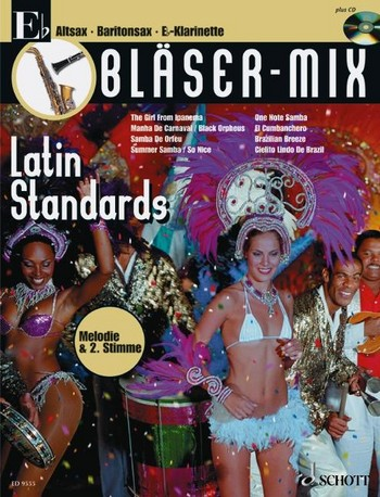 Bläser-Mix (+CD): Latin Standards für Es-Instrumente