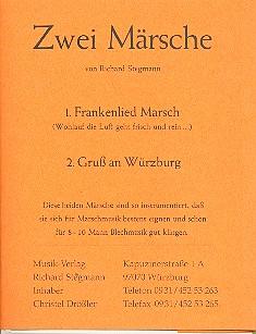 2 Märsche: für Blasorchester Stimmenset