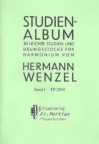Studienalbum Band 1: für Harmonium