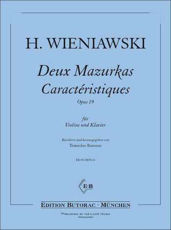 Wieniawski, Henri - 2 Mazurken op.19 :