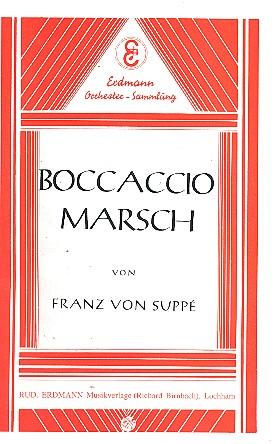 Boccaccio Marsch: für Salonorchester