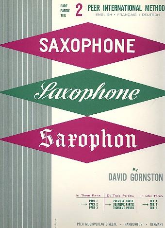 Method for Saxophone vol.2 (dt/en/fr)