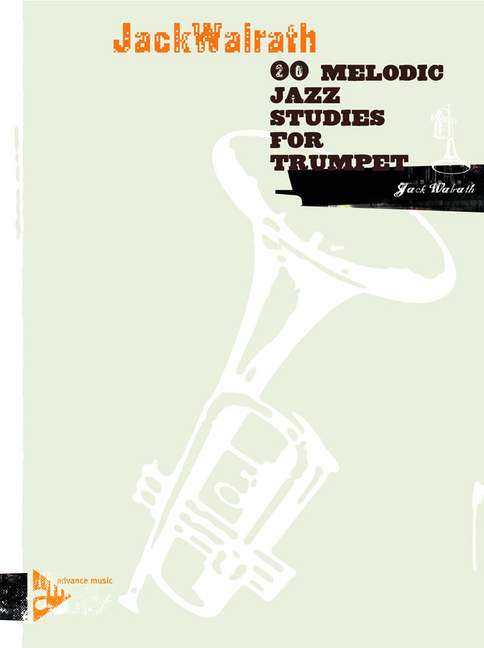 20 melodic jazz studies: for trumpet