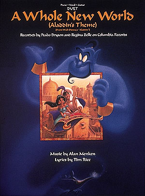 A whole new World: Duet for 2 voices and piano/guitar