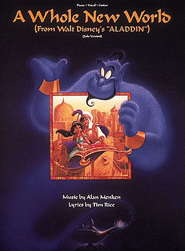 A whole New World : Einzelausgabe Gesang / Klavier / Gitarre