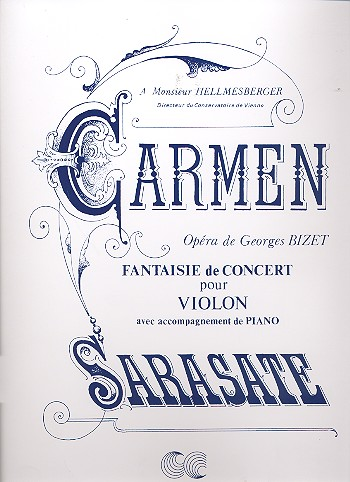 Sarasate, Pablo de - Carmen : fantaisie op.25