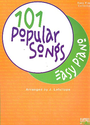 101 popular songs: for easy piano