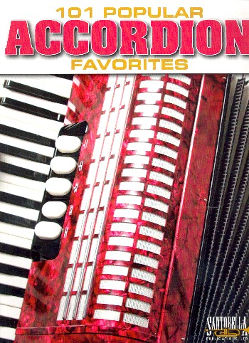 - 101 popular Songs : for accordion
