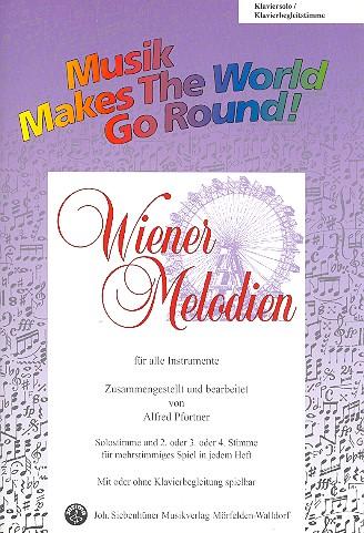 - Wiener Melodien : für flexibles Ensemble