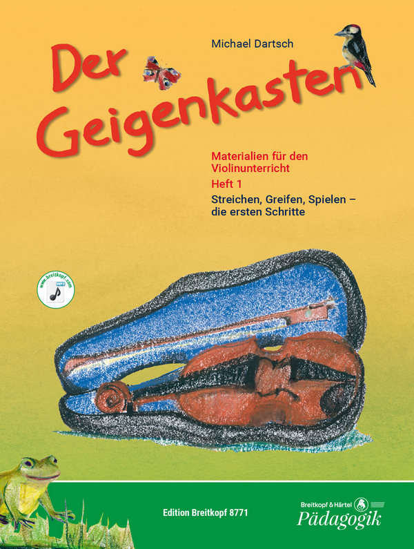 Der Geigenkasten Band 1 (+CD): Geigenschule