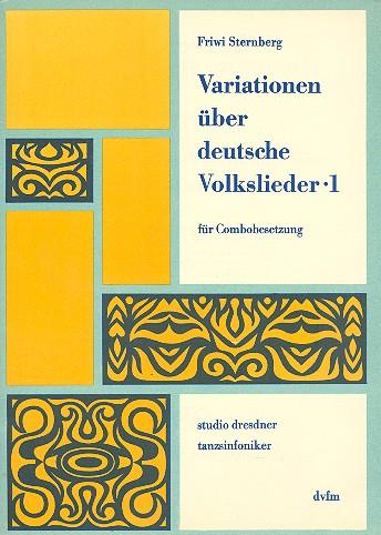 Variationen über deutsche Volkslieder Band 1: für Combo