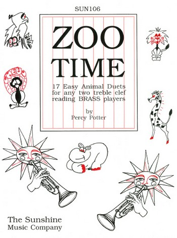 Potter, Percy - Zoo Time : 17 easy animal duets