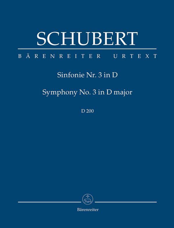Sinfonie D-Dur Nr.3 D200: für Orchester
