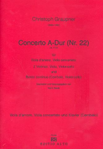 Concerto A-Dur Nr.22 für Viola d\