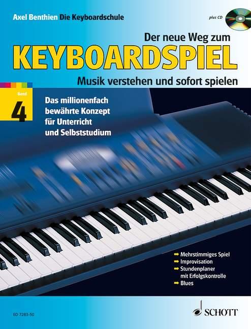 Der neue Weg zum Keyboardspiel Band 4 (+CD)