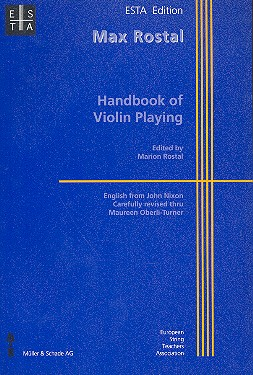 Rostal, Max - Handbook of Violin Playing
