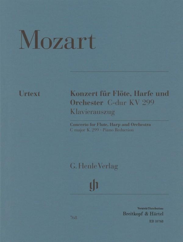 Mozart, Wolfgang Amadeus - Konzert C-Dur KV299 für Flöte, Harfe
