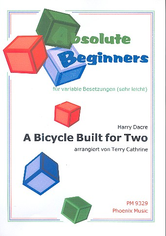 A Bicycle built for two: für variable Besetzung (sehr leicht)