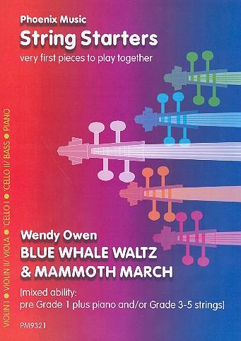 Blue Whale Waltz und Mammoth March: für variable Streicherbesetzung