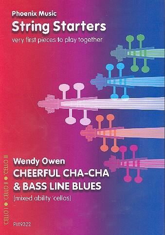 Cheerful Cha-Cha und Bass Line Blues: für variable Streicherbesetzung