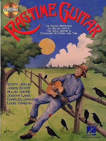 Ragtime guitar (+CD): for solo guitar 14 songs, standard notation and tab