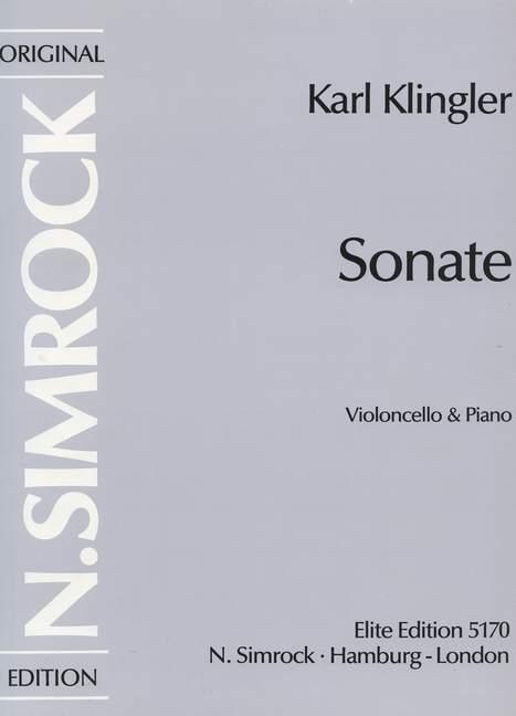 Sonate: für Violoncello und Kavier