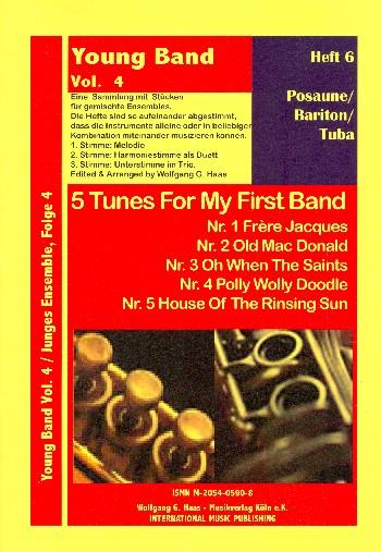 5 tunes for my first band vol.6: eine Sammlung mit Stücken für gemischtes Ensemble