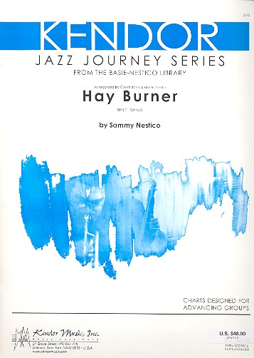 Hay Burner: for Jazz Ensemble score and parts