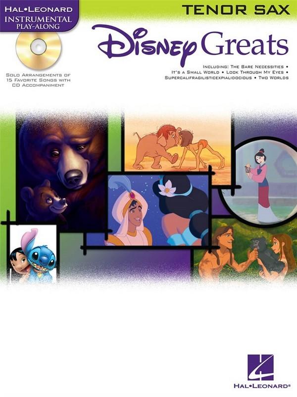 Disney greats (+CD): for tenor sax