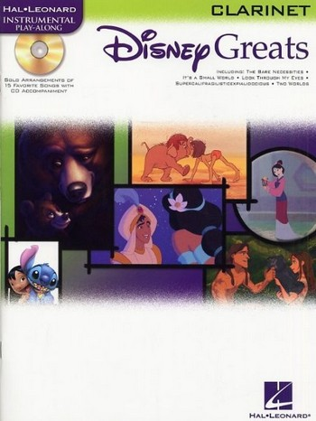 Disney Greats (+ Audio access): for clarinet