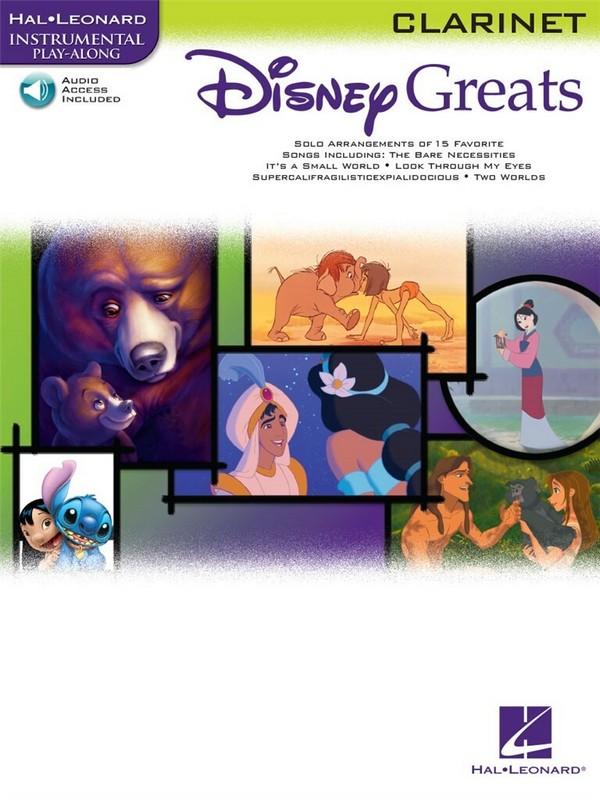 Disney Greats (+ Audio access): for clarinet
