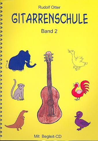Otter, Rudolf - Gitarrenschule Band 2 (+CD)