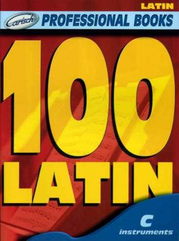 100 latin: for c instruments melody line and chord symbols