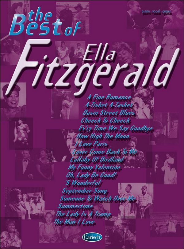 The best of Ella Fitzgerald: songbook for piano/vocal/guitar
