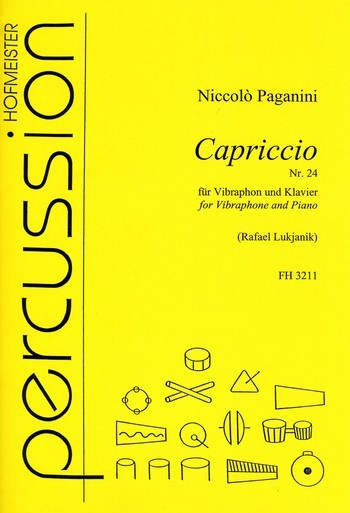 Capriccio Nr.24: für Vibraphon und Klavier