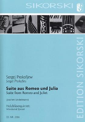 Prokofieff, Serge - Suite aus Romeo und Julia : für Flöte, Oboe,