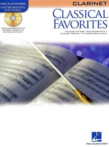 - Classical Favorites (+CD) : for clarinet