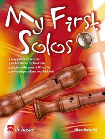 - My first solos (+CD) : for recorder