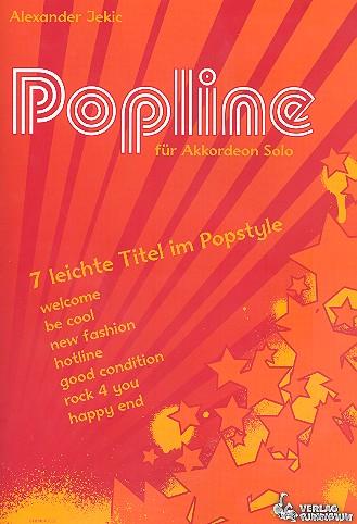 Jekic, Alexander - Popline (+CD) : 7 leichte