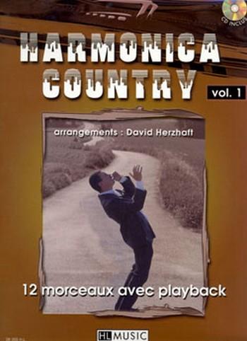 Harmonica country vol.1 (+CD): 12 morceaux pour harmonica