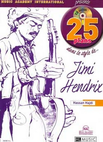 25 plans dans le style de Jimi Hendrix (+CD):