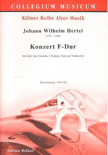 Konzert F-Dur für Harfe (Cembalo), 2 Violinen, Viola und Violoncello: