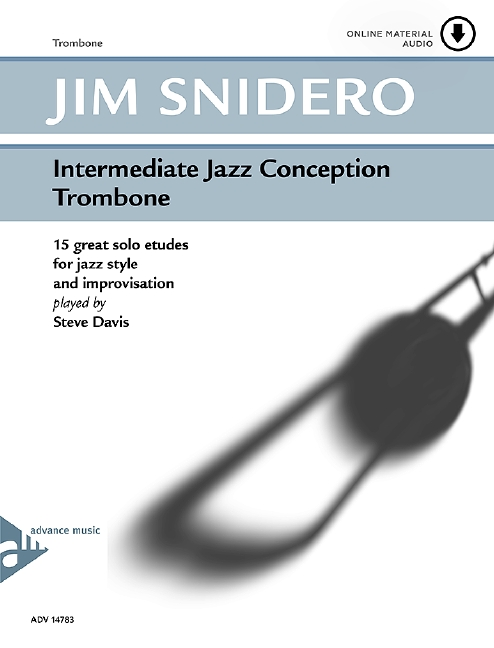 Intermediate Jazz Conception (+CD): for trombone