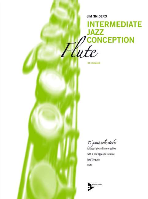 Intermediate Jazz Conception (+CD): for flute