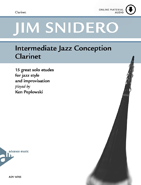 Intermediate Jazz Conception (+CD): for clarinet