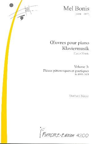 Bonis, Mel (Domange, Mélanie) - Klaviermusik Band 3 :