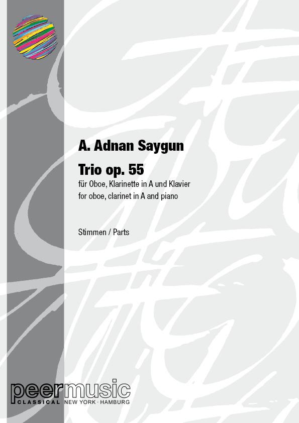 Saygun, A. Adnan - Trio op.55 : für Oboe,